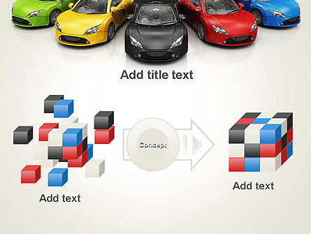 New Cars PowerPoint Template Slide 17