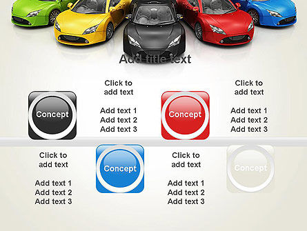 New Cars PowerPoint Template Slide 18