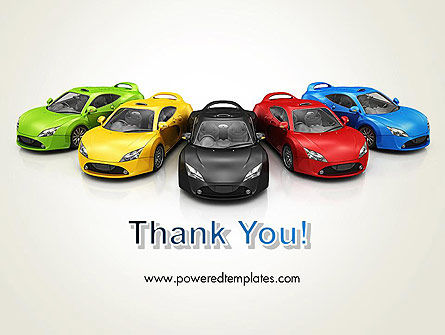 New Cars PowerPoint Template Slide 20