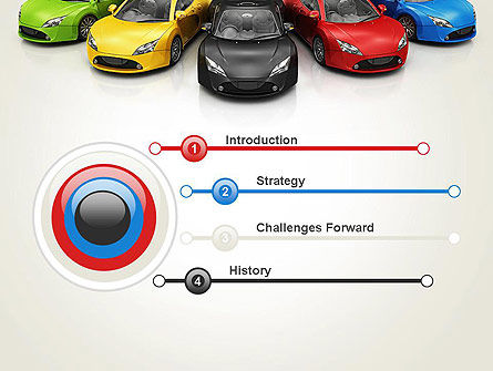 New Cars PowerPoint Template Slide 3