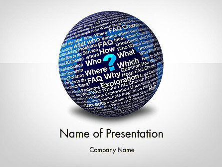 Education Globe PowerPoint Template