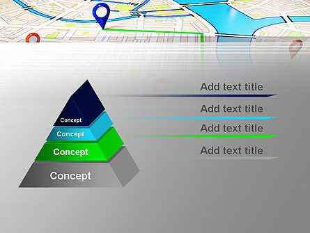 Navigation Points PowerPoint Template Slide 4