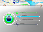 Navigation Points PowerPoint Template#3