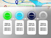 Navigation Points PowerPoint Template#5