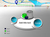 Navigation Points PowerPoint Template#6