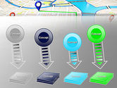 Navigation Points PowerPoint Template#8