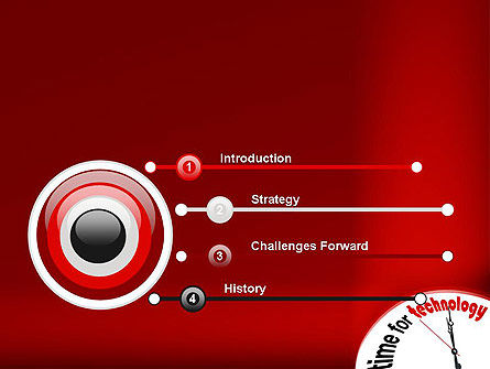 Time for Technology PowerPoint Template, Slide 3, 11960, Technology and Science — PoweredTemplate.com