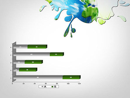 Green World PowerPoint Template Slide 11
