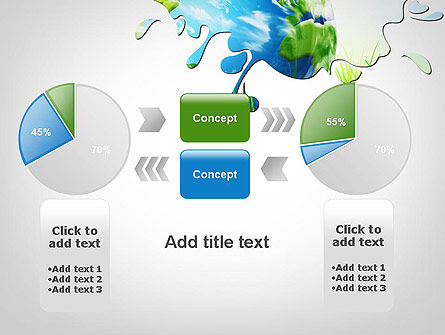 Green World PowerPoint Template Slide 16