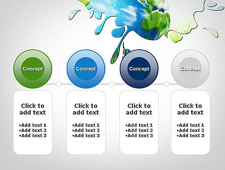 Green World PowerPoint Template Slide 5