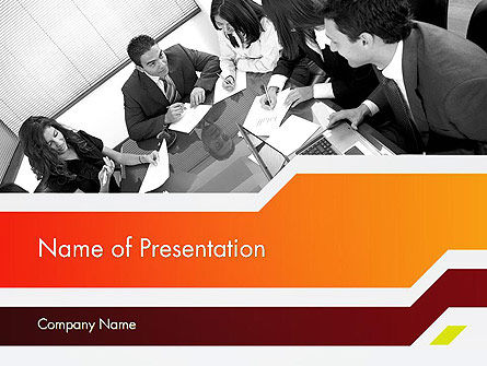 Business Leaders PowerPoint Template, 11963, People — PoweredTemplate.com