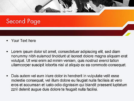 Business Leaders PowerPoint Template, Slide 2, 11963, People — PoweredTemplate.com