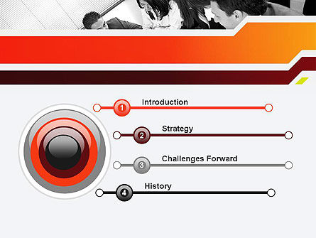 Business Leaders PowerPoint Template, Slide 3, 11963, People — PoweredTemplate.com