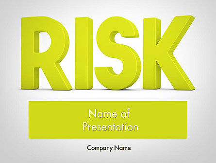 Consulting: Word RISK PowerPoint Template #11964