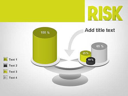 Word RISK PowerPoint Template Slide 10
