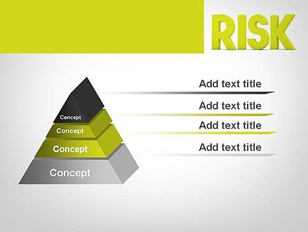Word RISK PowerPoint Template Slide 12