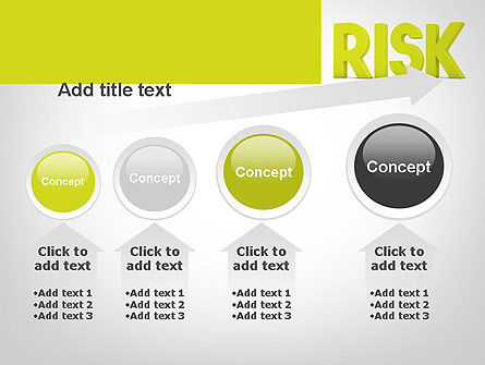 Word RISK PowerPoint Template Slide 13
