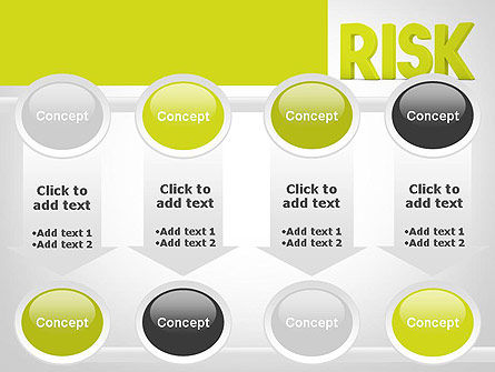 Word RISK PowerPoint Template Slide 18
