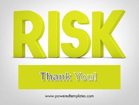 Word RISK PowerPoint Template Slide 20