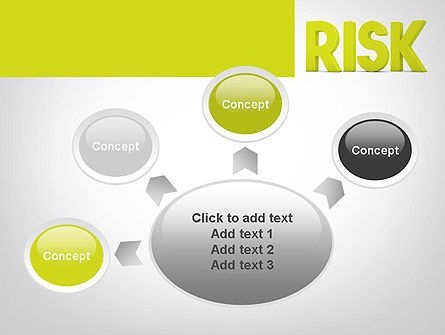 Word RISK PowerPoint Template Slide 7