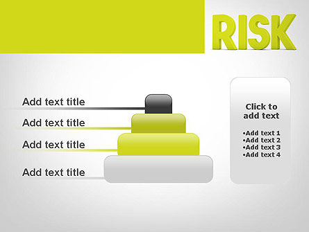 Word RISK PowerPoint Template Slide 8