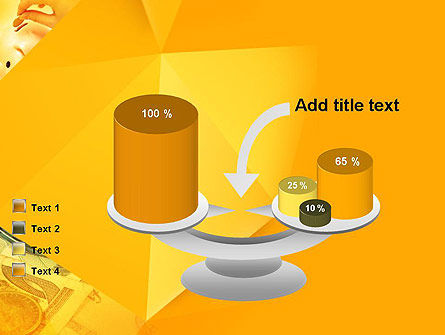 Financial Yellow Origami PowerPoint Template Slide 10