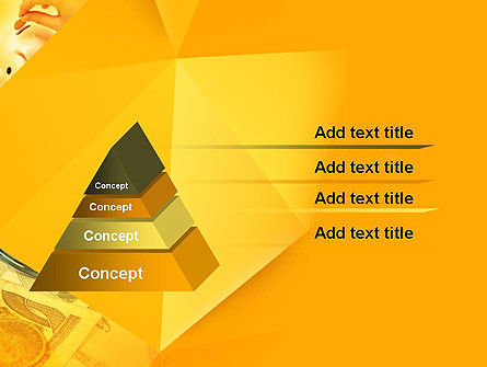 Financial Yellow Origami PowerPoint Template Slide 12