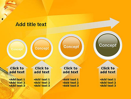 Financial Yellow Origami PowerPoint Template Slide 13