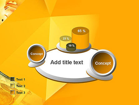 Financial Yellow Origami PowerPoint Template Slide 16