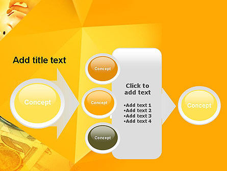 Financial Yellow Origami PowerPoint Template Slide 17