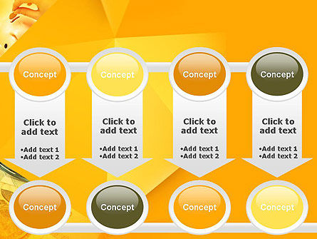 Financial Yellow Origami PowerPoint Template Slide 18