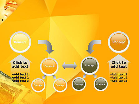 Financial Yellow Origami PowerPoint Template Slide 19