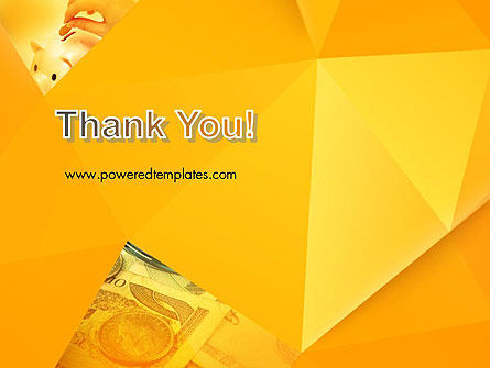 Financial Yellow Origami PowerPoint Template Slide 20