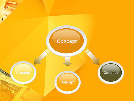 Financial Yellow Origami PowerPoint Template, Slide 4, 11966, Financial/Accounting — PoweredTemplate.com