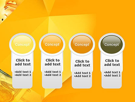 Financial Yellow Origami PowerPoint Template Slide 5