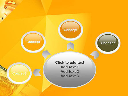 Financial Yellow Origami PowerPoint Template Slide 7