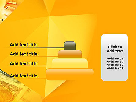 Financial Yellow Origami PowerPoint Template Slide 8