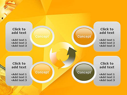 Financial Yellow Origami PowerPoint Template Slide 9