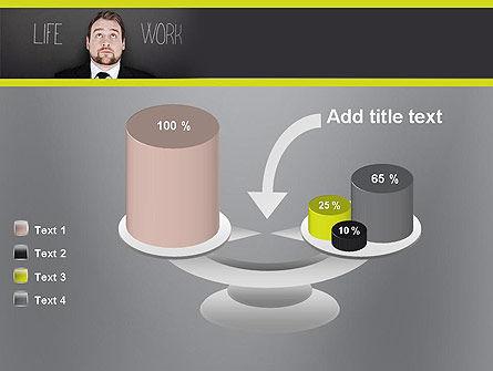 Life Work Balance PowerPoint Template Slide 10