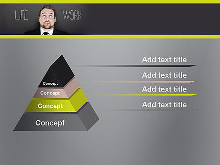 Life Work Balance PowerPoint Template Slide 12