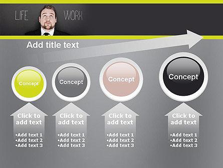Life Work Balance PowerPoint Template Slide 13
