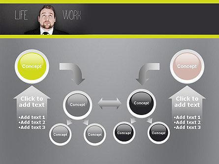 Life Work Balance PowerPoint Template Slide 19