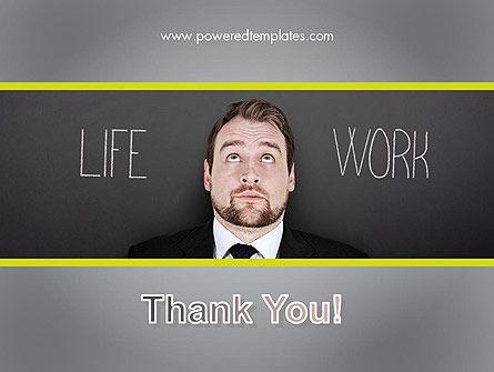 Life Work Balance PowerPoint Template Slide 20