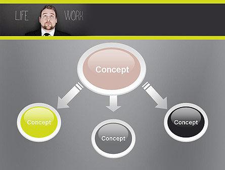 Life Work Balance PowerPoint Template, Slide 4, 11967, Careers/Industry — PoweredTemplate.com