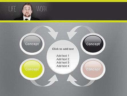Life Work Balance PowerPoint Template Slide 6