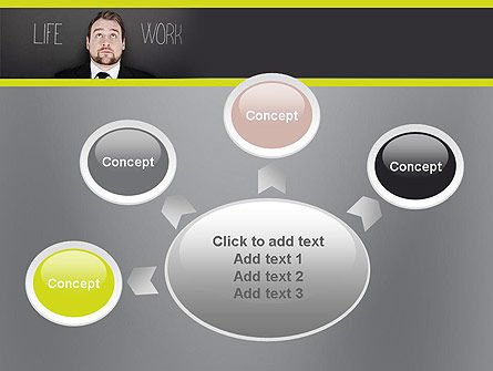 Life Work Balance PowerPoint Template Slide 7