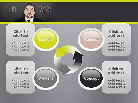 Life Work Balance PowerPoint Template Slide 9