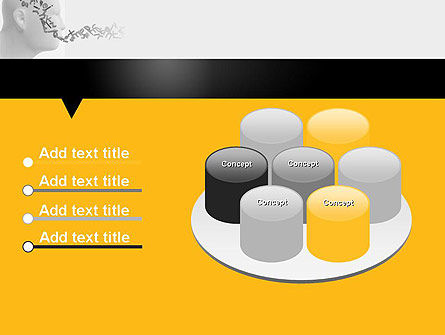 Generating Words PowerPoint Template Slide 12