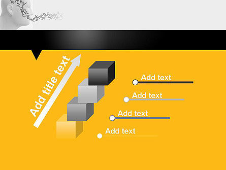 Generating Words PowerPoint Template Slide 14