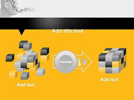 Generating Words PowerPoint Template Slide 17